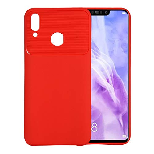 Simple and practical Beetle Series Shockproof TPU Case for Galaxy Y9(2019), Stylish and beautiful, simple and practical(Black) (Color : Red)