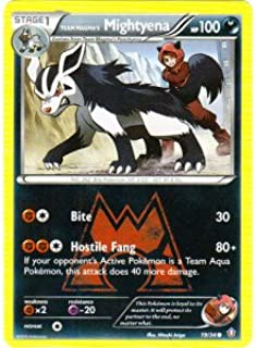 Pokemon - Team Magma39;s Mightyena (19/34) - Double Crisis