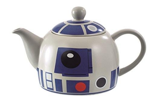 Star Wars – Tetera de R2-D2, Dibujo sobre Fondo Blanco