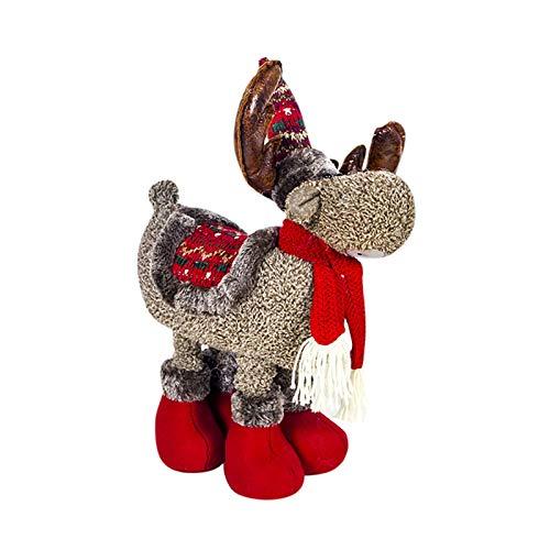 unknow Spielzeug Langhalsiger Drache 2020 Christmas Ornaments Plüsch Retractable...