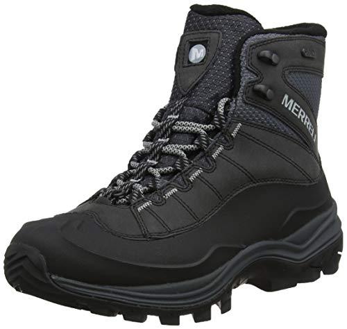 Merrell Men's Thermo CHILL MID Shell WP Snow Boot, Black, 10.5 Medium
