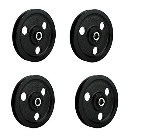 Why Should You Buy 4-Cast-Iron-Pulley 4 Pulleys