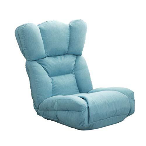 NXYJD Sofá Perezoso, Moderna Simple de la Sala de Estar Creativa Individual pequeño sofá Ocio Tatami Dormitorio Descargas Digitales de Silla