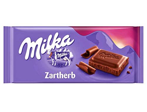 Milka Zartherb Sammelpack, 4er Pack (4 x 500 g)