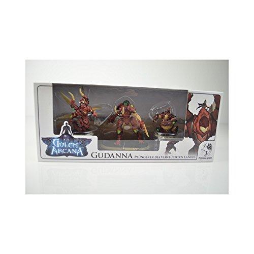 Pegasus Spiele 58005G - Golem Arcana Gudanna - Plünderer des verfluchten Landes