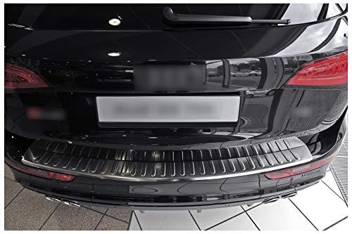 teileplus24 L558 Ladekantenschutz V2A Edelstahl für Audi Q5 1 8R 2008-2016 Abkantung