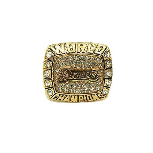 2000 NBA Los Angeles Lakers O'Neal Championship Ring Anillos de Campeonato campeones de Baloncesto Anillo de réplicas de Aficionados colección del Regalo de los Hombres de Recuerdo,Without box,11