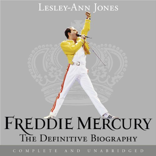 Freddie Mercury: The Definitive Biography audiobook cover art
