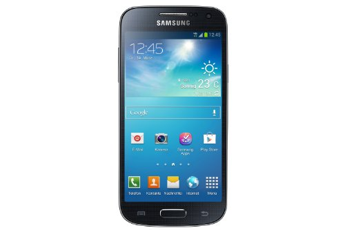 Samsung Galaxy S4 mini Smartphone (10,9 cm (4,3 Zoll) Touch-Display, 8 GB  Speicher, Android 4.2) schwarz