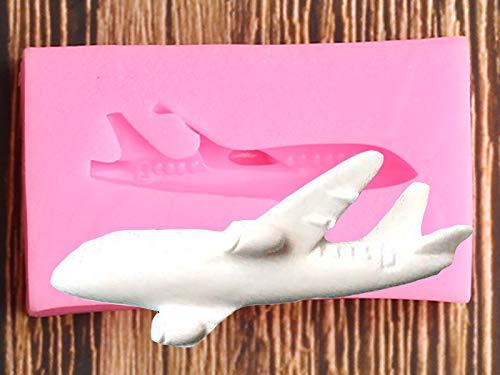 XIAOM Kuchenform Flugzeug Silikonform DIY Party Kuchen Dekorieren Werkzeuge Cupcake Topper Küche Backen Schokoladensüßigkeiten Fondant Formen