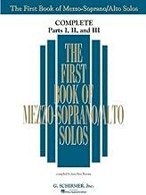 The First Book of Solos Complete - Parts I, II and III: Mezzo-Soprano/Alto