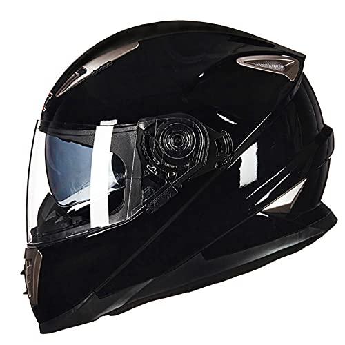 Casco de Motocross Casco Antivaho Unisex de Carretera Quad Casco de Motocicleta Cross de Motocross para JóVenes y Adultos Dot ECE Homologado,C,M