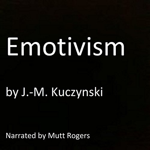Emotivism audiobook cover art