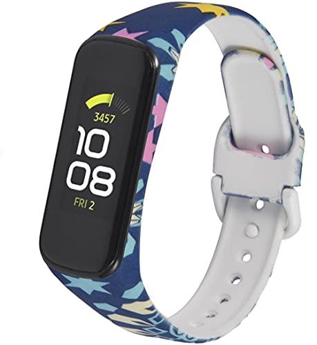 Classicase Correa de Reloj Recambios Correa Relojes Caucho Compatible con Galaxy Fit-e SM-R375 - Silicona Correa Reloj con Hebilla (Pattern 1)