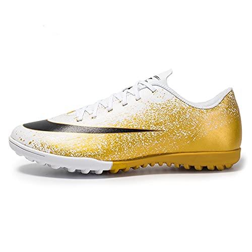Zapatos de fútbol for hombres / femeninos Cleats Zapatos de fútbol de bajo corte CORTE CORTE CORTE INKJET CAMPO SUPERIOR Campo de entrenamiento Zapatos de fútbol profesional Jóvenes Deportes al aire l
