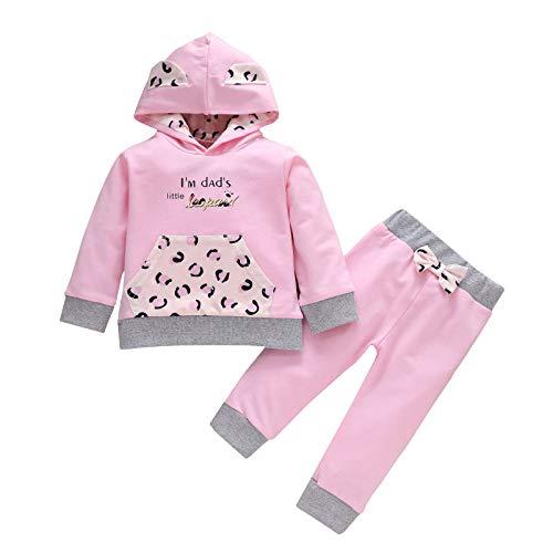 MUMEOMU Babykleidung Set Neugeborenes Kleinkind Baby Jungen Mädchen Kleidung Langarm...