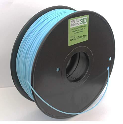 3D Printer Filament PLA 1.75mm - Light Blue - High Tolerance - Wide Operating Temperature (300grms(100m)) (500grms(165m))