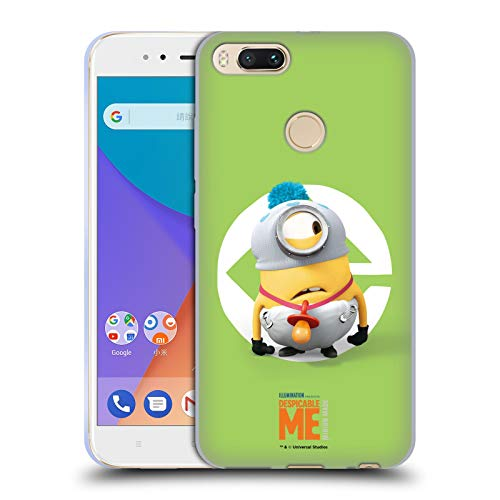 Official Despicable Me Stuart Baby Costume Minions Soft Gel Case Compatible for Xiaomi Mi A1 / Mi 5X