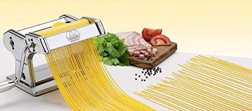 Marcato AC-150-CHI Accessorio per Atlas Spaghetti Chitarra Utensili da Cucina, Acciaio Cromato, Argento