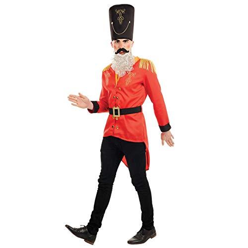 Fun Shack Rojo Cascanueces Disfraz para Hombres - L