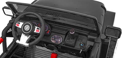 RC Auto kaufen Kinderauto Bild 3: BSD Kinderauto Elektroauto Kinderfahrzeug Spielzeug Elektrofahrzeuge - Master 4x4 2-Sitzer - Schwarz*