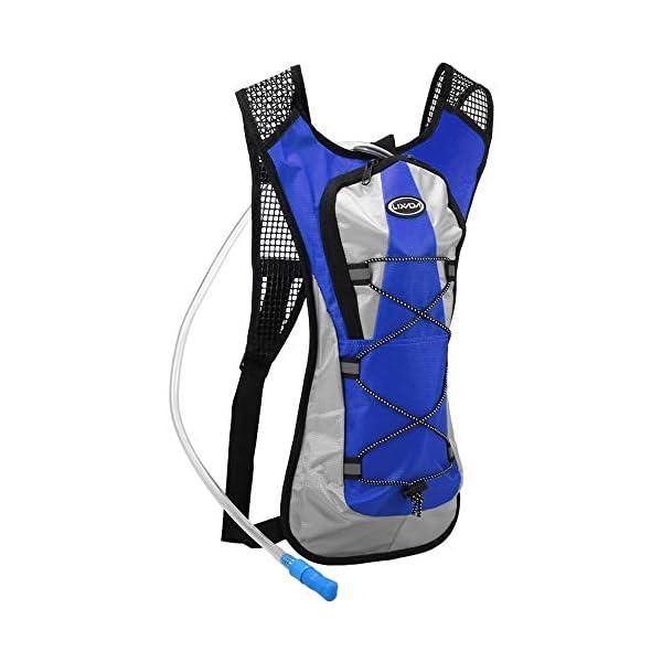 41x5yDgVnmL. SS600  - Lixada Mochila Ciclismo Hidratación Mochila Deportiva con Bolsa de Agua 2L para Camping Senderismo Equitación Escalada…