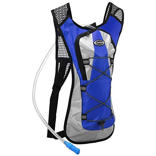 41x5yDgVnmL - Lixada Mochila Ciclismo Hidratación Mochila Deportiva con Bolsa de Agua 2L para Camping Senderismo Equitación Escalada…