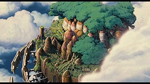 ZYYSYZSH Rompecabezas para Adultos de 1000 Piezas Que brindan Divertidos Juegos de Rompecabezas a Gran Escala o Decoraciones de Pared para reuniones de Adultos y niños Sky Castle / (38x26cm)