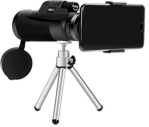 HSWYJJPFB Monocular Monocular para Exteriores para observación de Aves monoculares portátiles de Alta definición para Adultos(Size:Set)