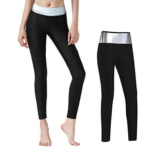 Moonssy Pantalones Deportivos Mujer, Leggins Reductores Adelgazantes, Leggins Anticeluliticos Cintura Alta, Mallas Fitness Push Up para Deporte Running Yoga Gym (L)