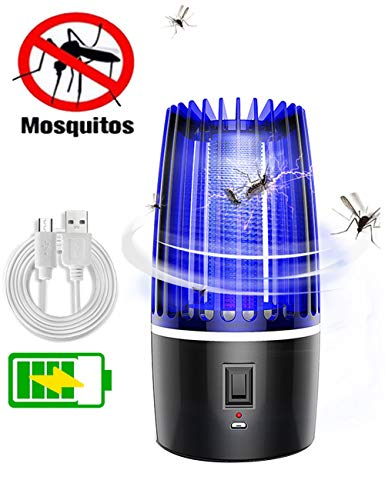 Gettop Licht Bug Zapper UV Insektenfalle Insektenvernichter Elektrisch, Mottenfalle Insektenfalle Elektrischer Insektenvernichter, Für Kinderzimmer Schlafzimmer Wohnzimmer Andere Innenumgebung