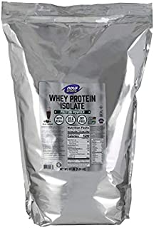 Now Sports Whey Protein Isolate, Creamy Chocolate Powder 10-Pound