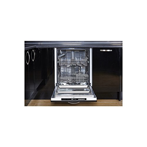 White Knight DW1460IA Fully Integrated 14 Place Full-Size Dishwasher in White