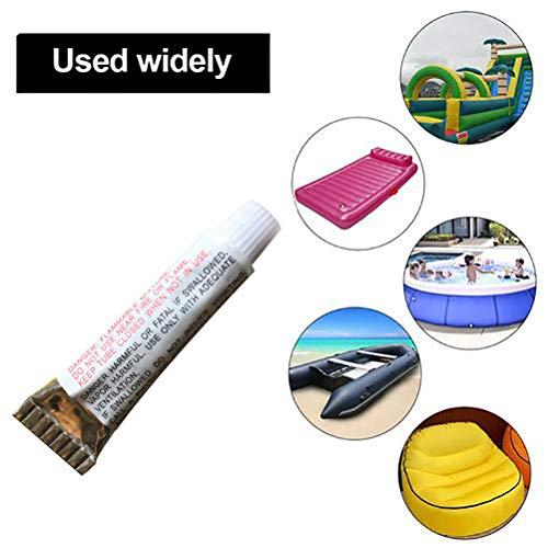 Halsey99 Reparatur-Kleber PVC-Puncture Repair Kleber Kit Kleber für aufblasbares Spielzeug Schwimmbäder Float Luftmatratze