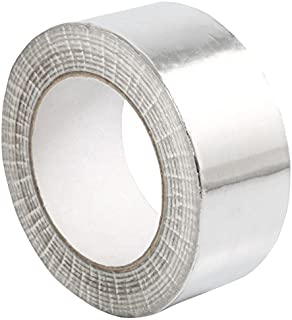 STERR - Aluminum foil Duct Tape self-Adhesive Silver 1.9 inch x 150 feet