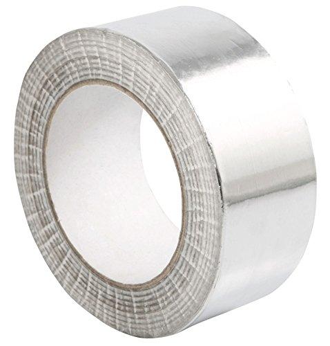 STERR - Aluminiumband Aluminium Klebeband Aluminiumklebebänder Silber 50mm X 50m