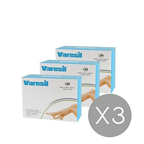 Varices - 3 Varesil Pills: Pastillas para prevenir las varices