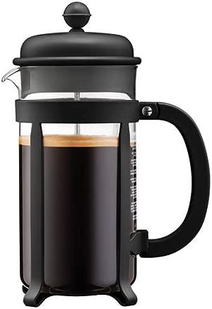 BODUM JAVA 8-Cup Coffee Press, 1Litre, Black