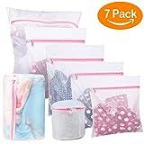 BoxLegend 7Pcs Sacs à linge en mesh pour vêtements délicats avec stockage de voyage Premium avec fermeture à glissière