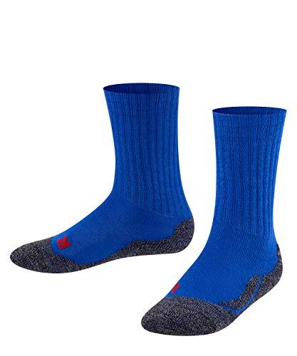 Falke Unisex Kinder Socken, Active Warm K SO -10476, Blau (Cobalt Blue 6054), 35-38 (9-12 Jahre)