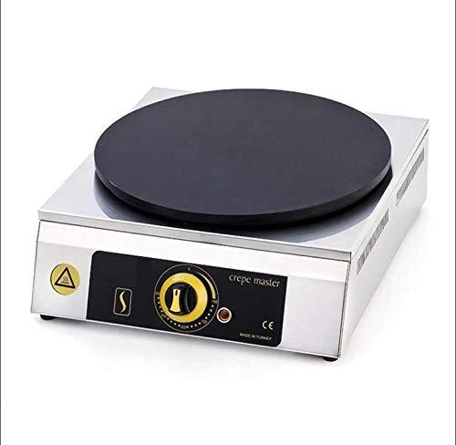 40 cm antiadherente con revestimiento de TEFLON único termostato control eléctrico profesional comercial industrial restaurante...