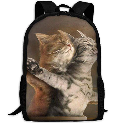 fsfsdafsaBags Funny Cats Titanic 3D Print Sac à DOS de Voyage College School Laptop Bag Daypack Travel Shoulder Bag for Unisex