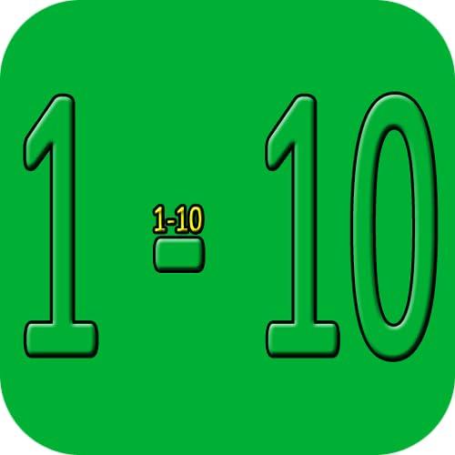 Em números Inglês 1 a 10