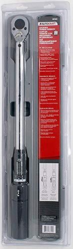 Autocraft AC66 50-250 Ft/Lb Torque Wrench