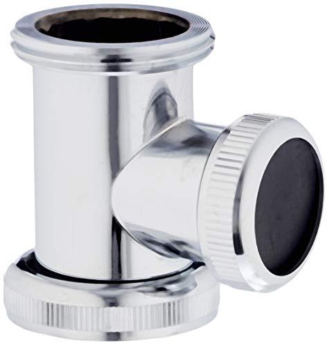 Cornat TEC356260 Abfluss-Zwischenstück 1 1/4 Zoll Waschtisch, chrom