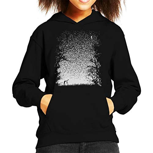 Cloud City 7 pixels Stargazing Kid's Hooded Sweatshirt
