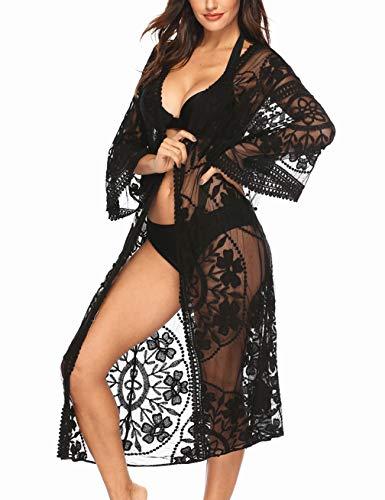 Kimono Encaje Mujer  marca Kistore