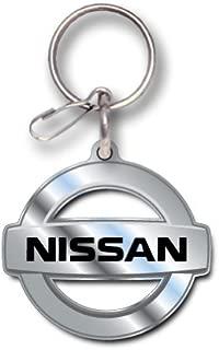 Plasticolor Nissan Logo Enamel Key Chain