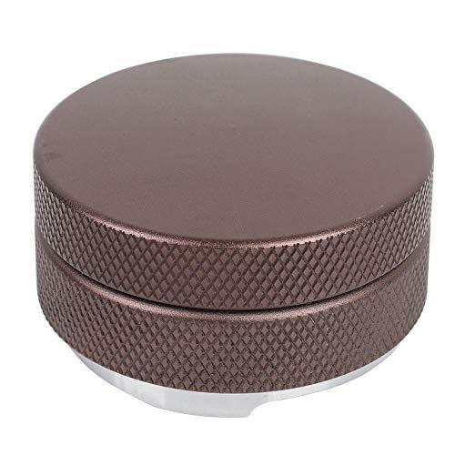Diyeeni 58mm Kaffee Tamper Distributor Höhe Einstellbar, Edelstahl Kaffeepulver-Verteiler Leveler zur Perfekten Extraktion mit Siebträgermaschinen, Distributiontool