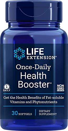 Life Extension Once-Daily Health Booster, 30 Softgels, 100 g